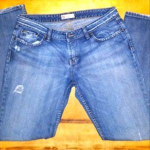 BKE Denim bootcut flare jeans women's 34x33.5